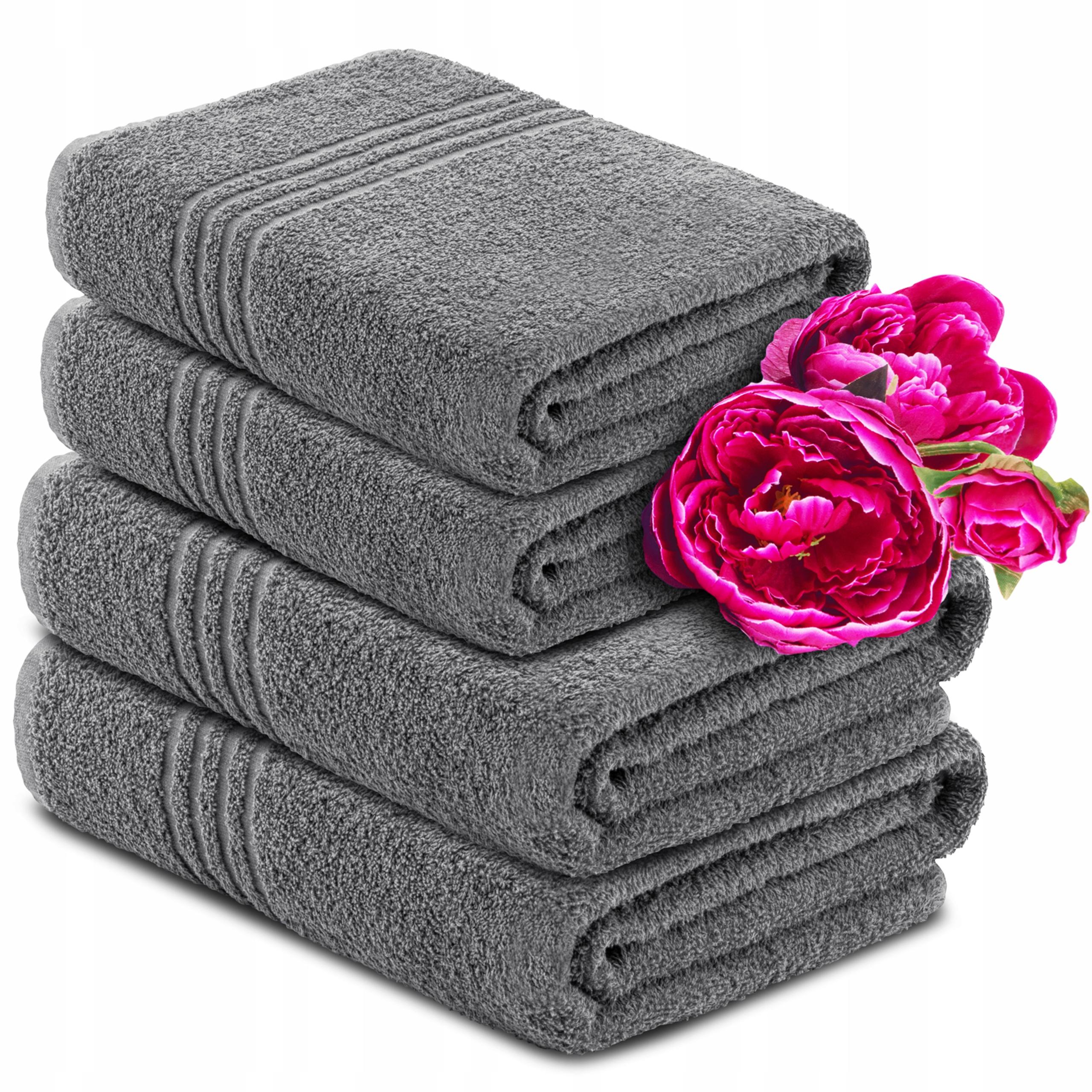 Komplet Ręczników 4szt FROTTE 2X 70x130 + 2X 50x90