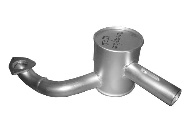 exhaust muffler JCB 3CX 4CX 123/06406