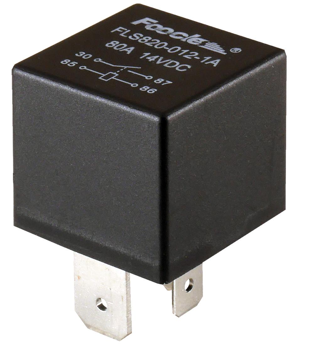 реле автомобильный 12v 80a 4 pin герметичным он