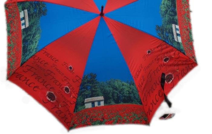 Parasol Doppler Art Collection White Cottage Francúzsko