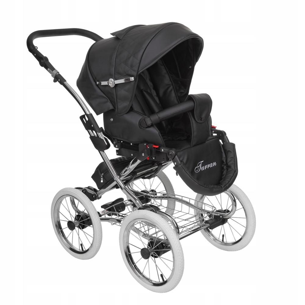 Turran eco Silver wózek dziecięcy Tutek 2w1 Zestaw 2w1