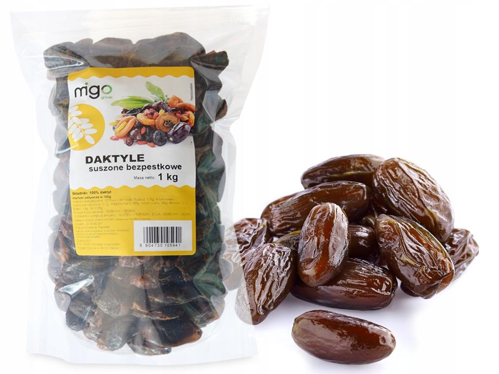 DAKTYLE Suszone Bez Pestek 1kg, PYSZNE - MIGOgroup