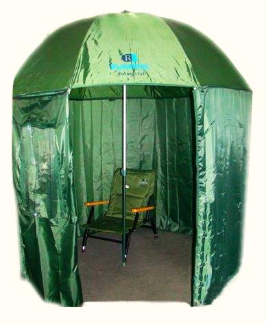 Silný dáždnik stan s oknom impregnovanom stan