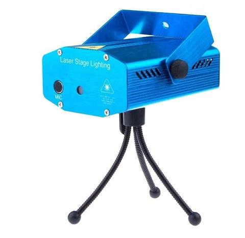 LASER DISCO проектор стробоскопическая лампа