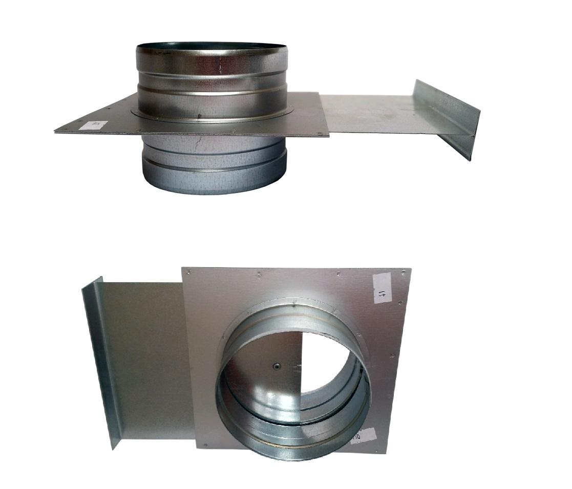 Porch 180 škrtiacej klapky hadice spiro extrakcia 0,5