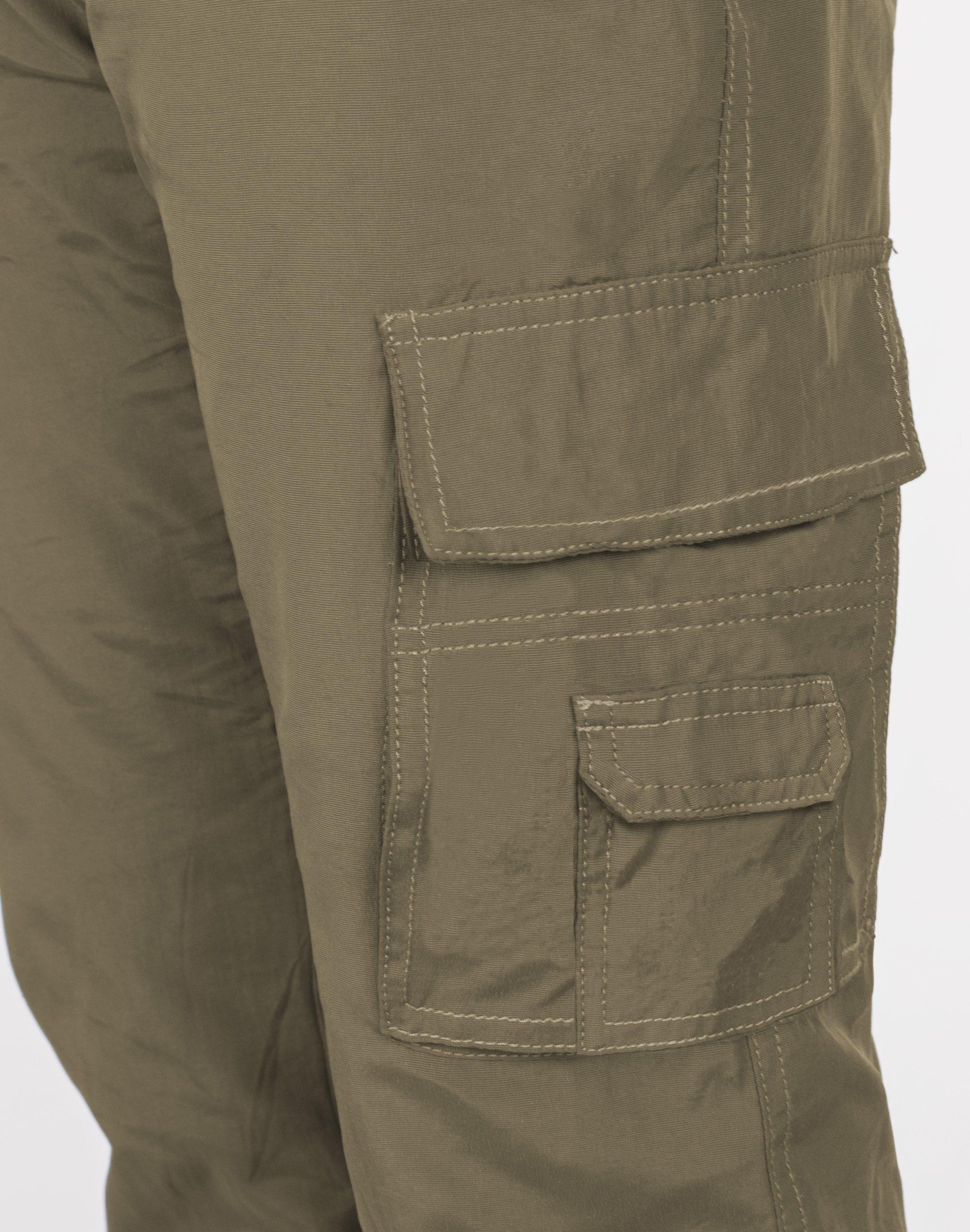 Spodnie Męskie Bojówki Trekkingowe 804 r XXL khaki