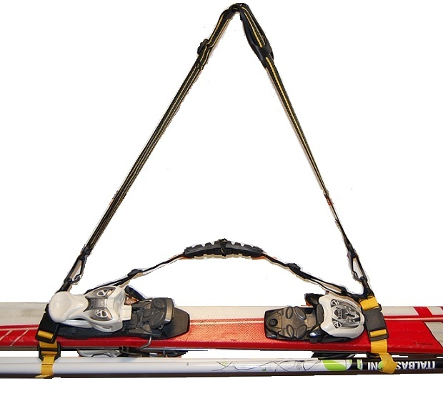 Hit !!! Postroj SkiHandhold Láky na nosenie lyží