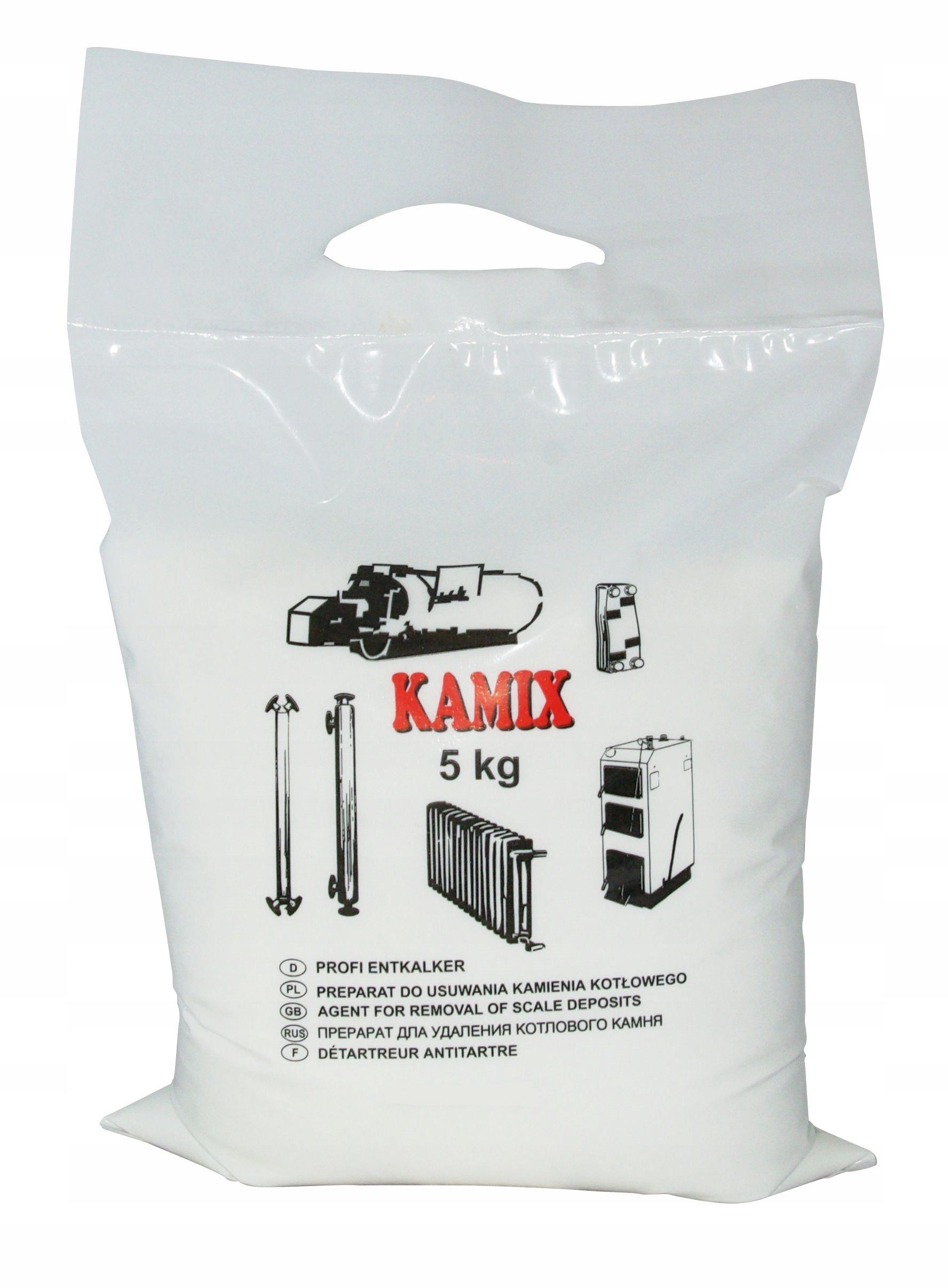 KAMIX для установки 5кг - эффективная для удаления накипи