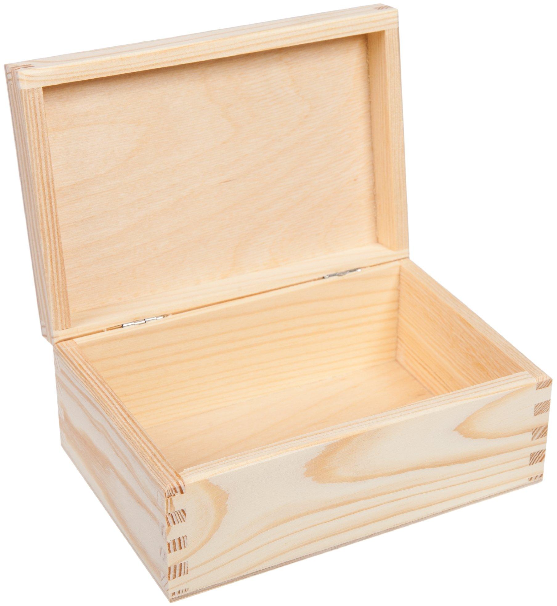 Drevený box Casket 15x9cm decoupage Eco