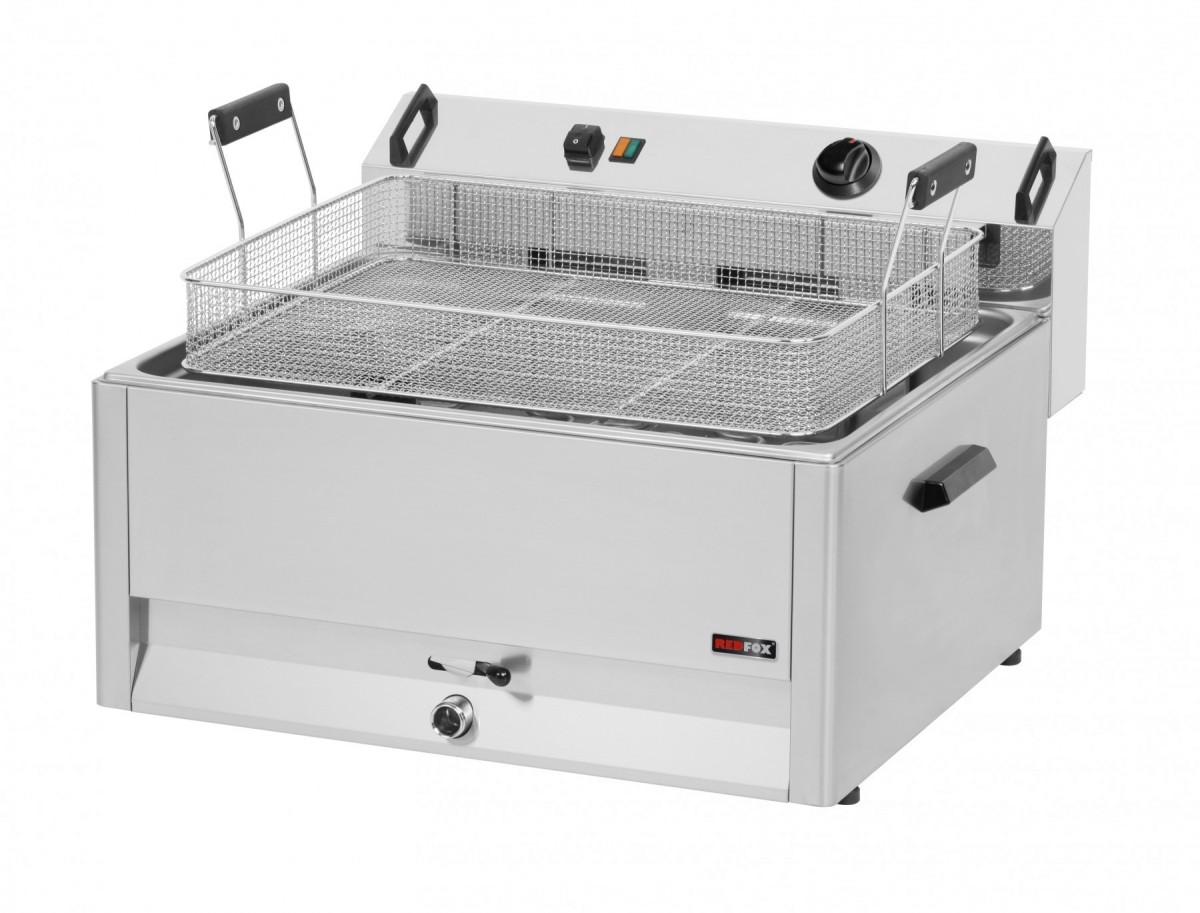 Trojfázová 30L Super Fe-60 Elektrická fritéza
