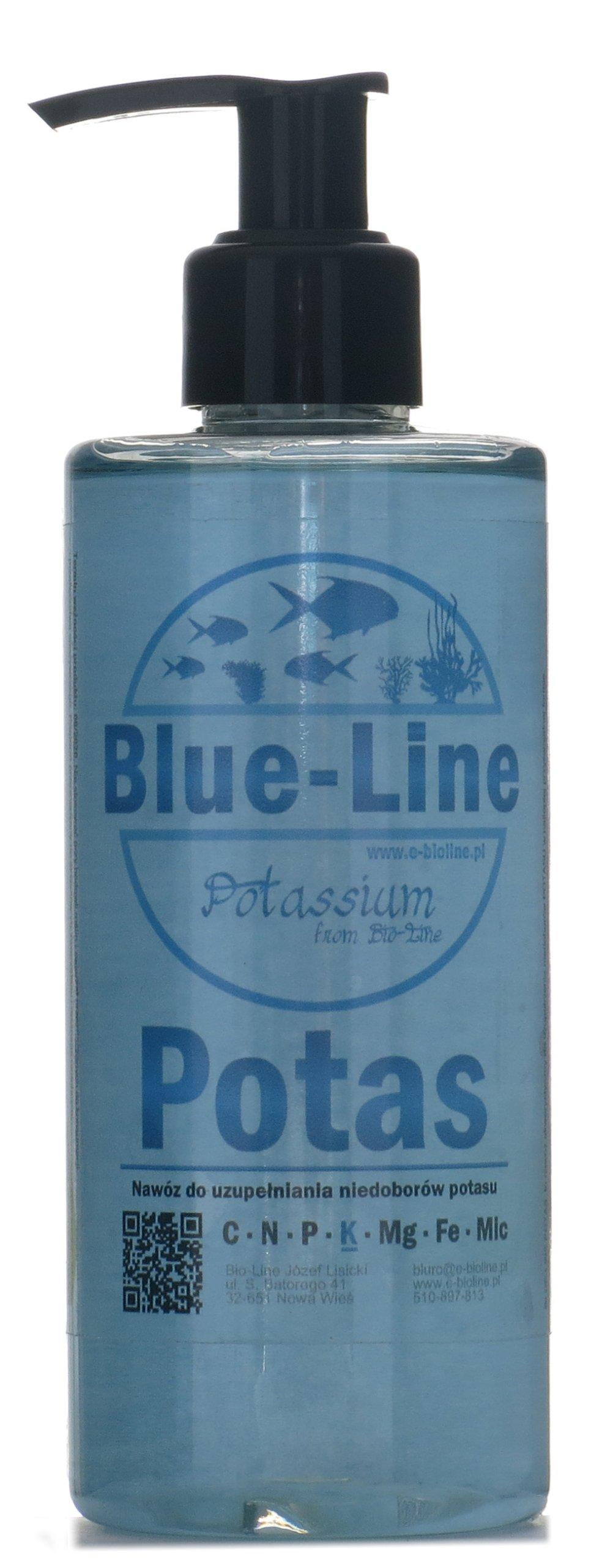 удобрение едкого калия от Blue-Line- Чистый КАЛИЙ 500 мл