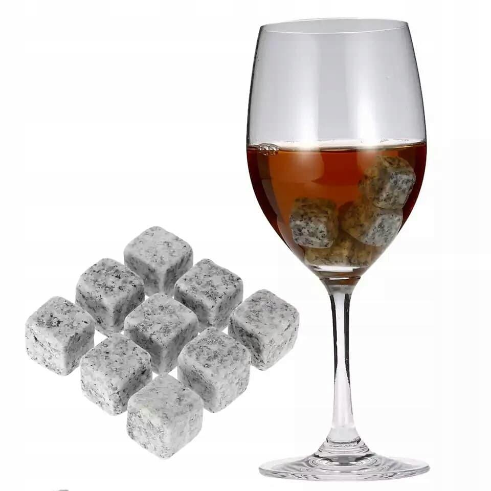Kamienie Do Whisky Drinkow Granit 12szt Jasne 7691937967 Allegro Pl