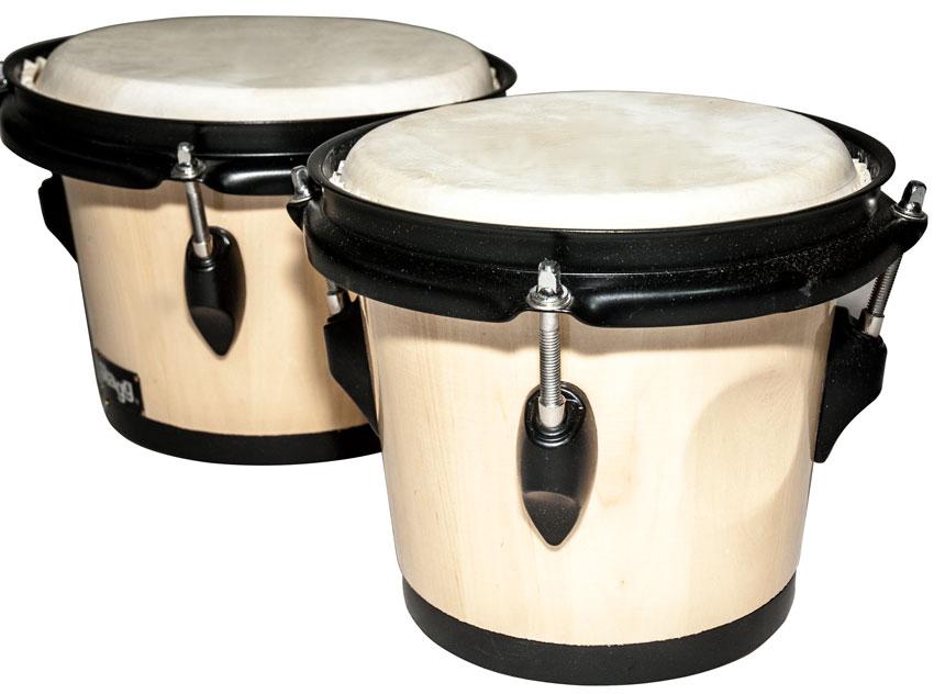 Profesionálny drevený bongos senzačný zvuk