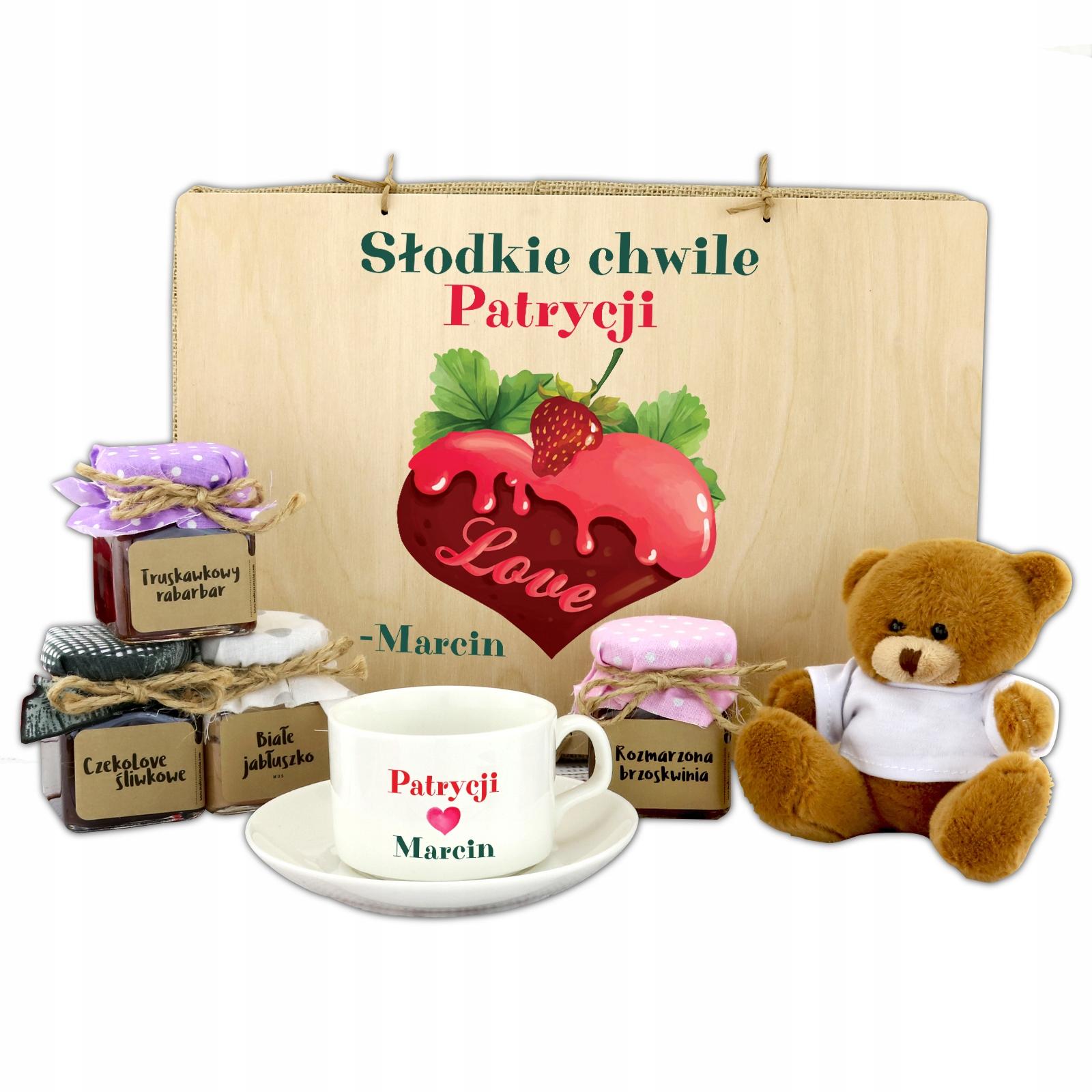 Nastaviť VALENTÍNA darček pre PÁRY medveď JAM