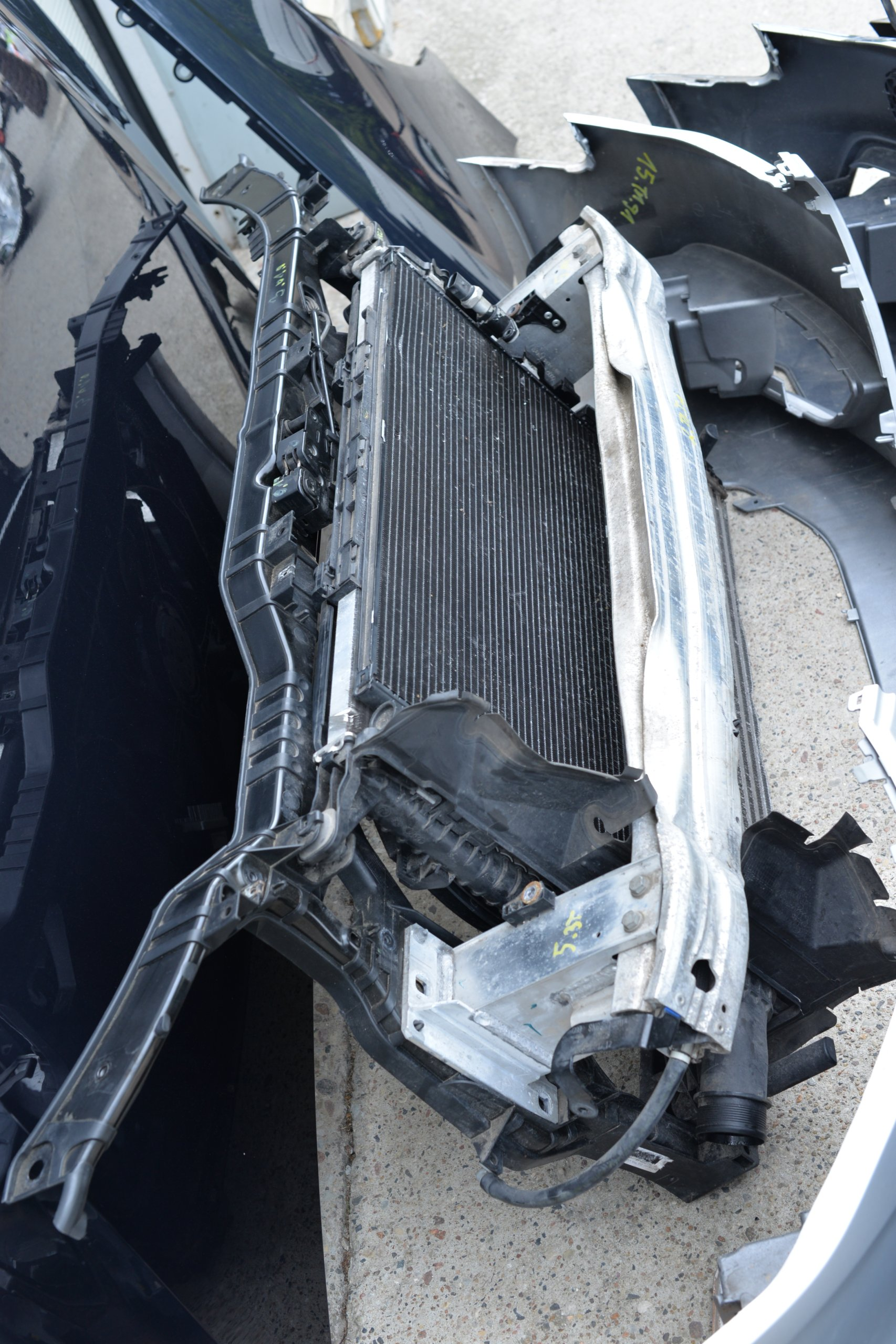 капот бампер крило фара пас audi a4 b8 2012-16, фото