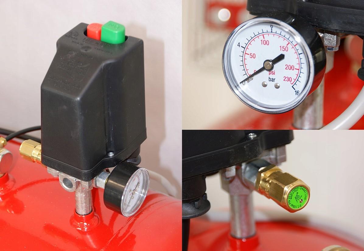 Kompresor Sprężarka 200 Litrów FIAC AB 200-525 Moc 3 kW