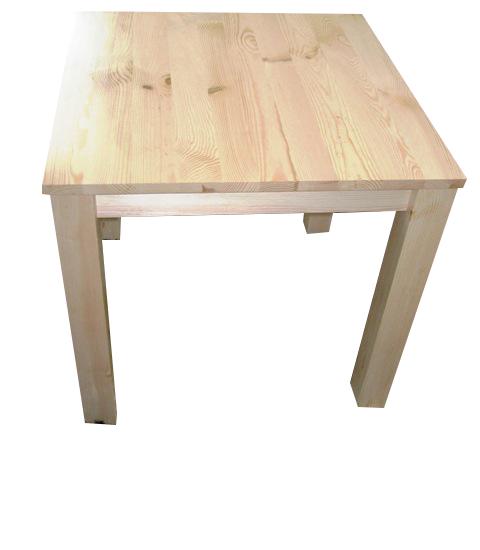 Stół drewniany sosnowy 90x90 ELEGANCKI NOWOCZESNY Głębokość mebla 90 cm
