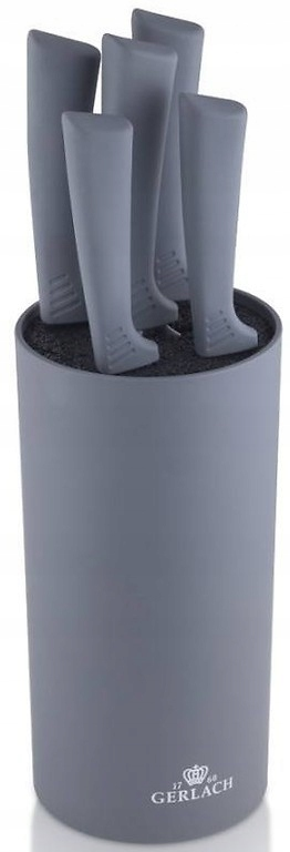 Zestaw 5 noży Gerlach Smart 994M 8,5 - 20 cm Szare