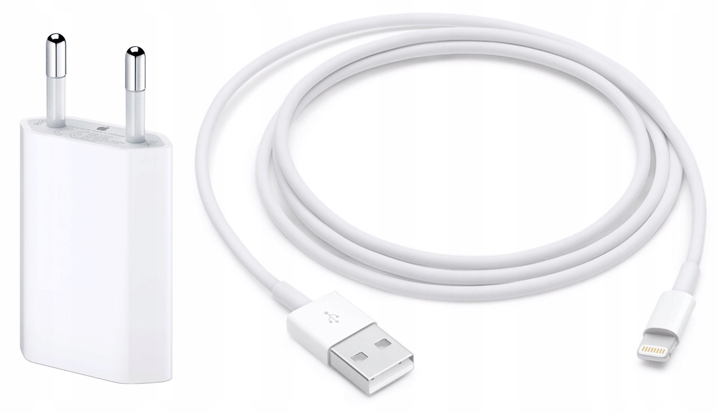 Oryginalny Kabel Ładowarka iPhone 5S 6S 7 8 Plus X