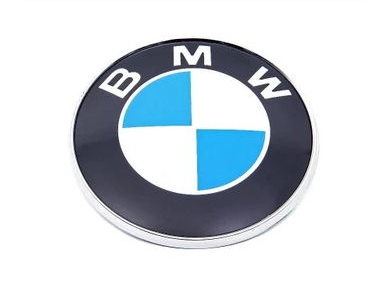 logo sticker emblem BMW key 11MM aluminum