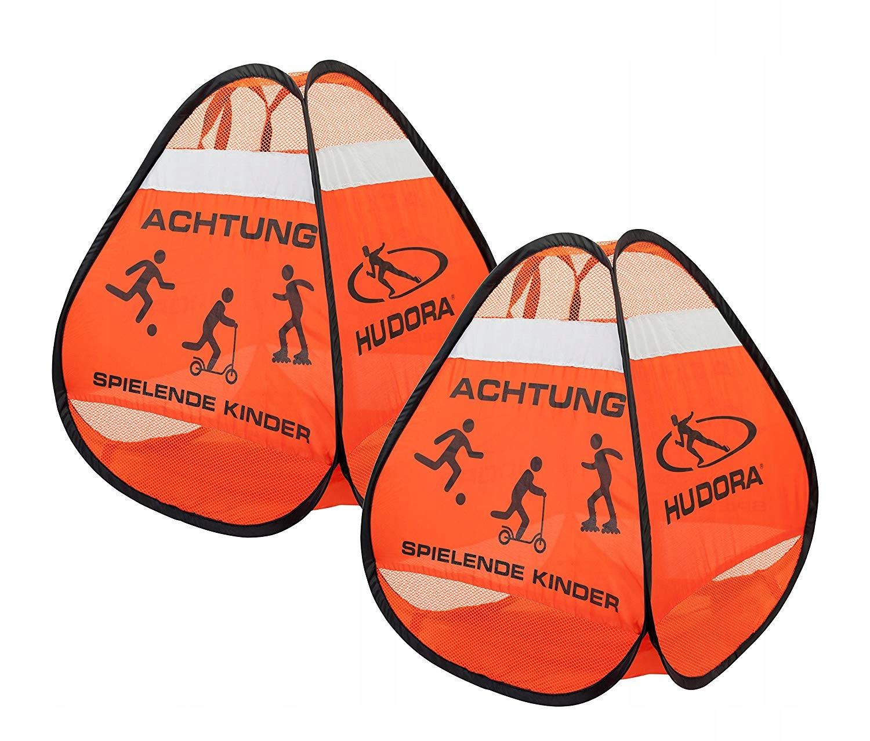2 varovné stĺpiky Hudora 85071 pre hranie s deťmi