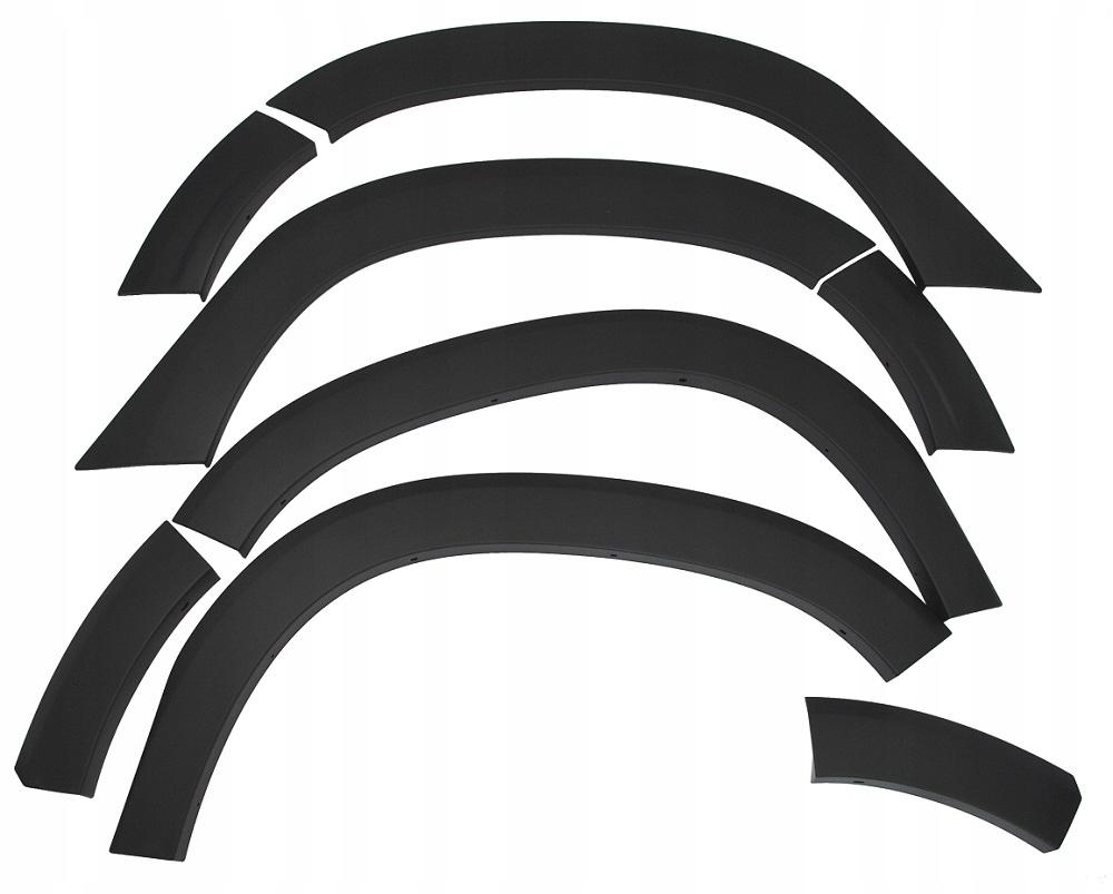 накладки защитные колесных арок dacia duster ii - орг