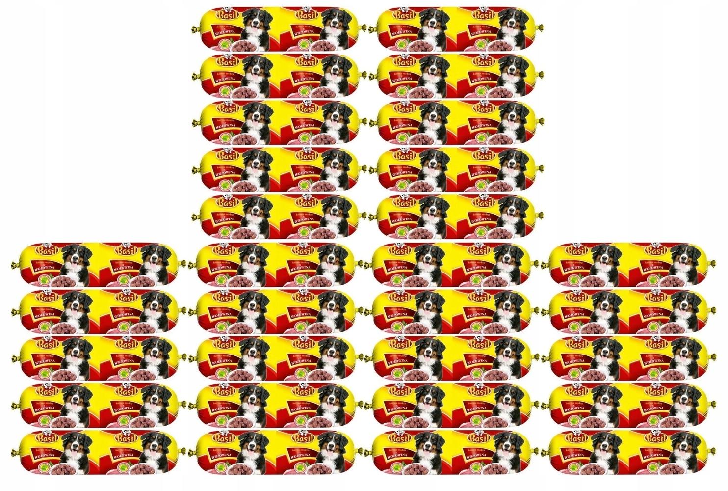 Karma dla psa Baton Basil z wołowiną 30 x 900 g