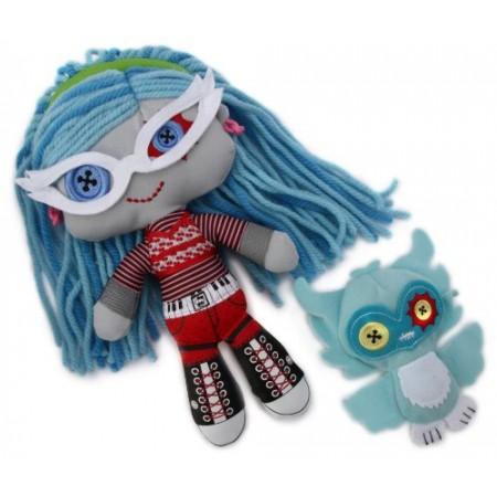 Monster High Pluszaki Kolorzki Ghoulia W2571