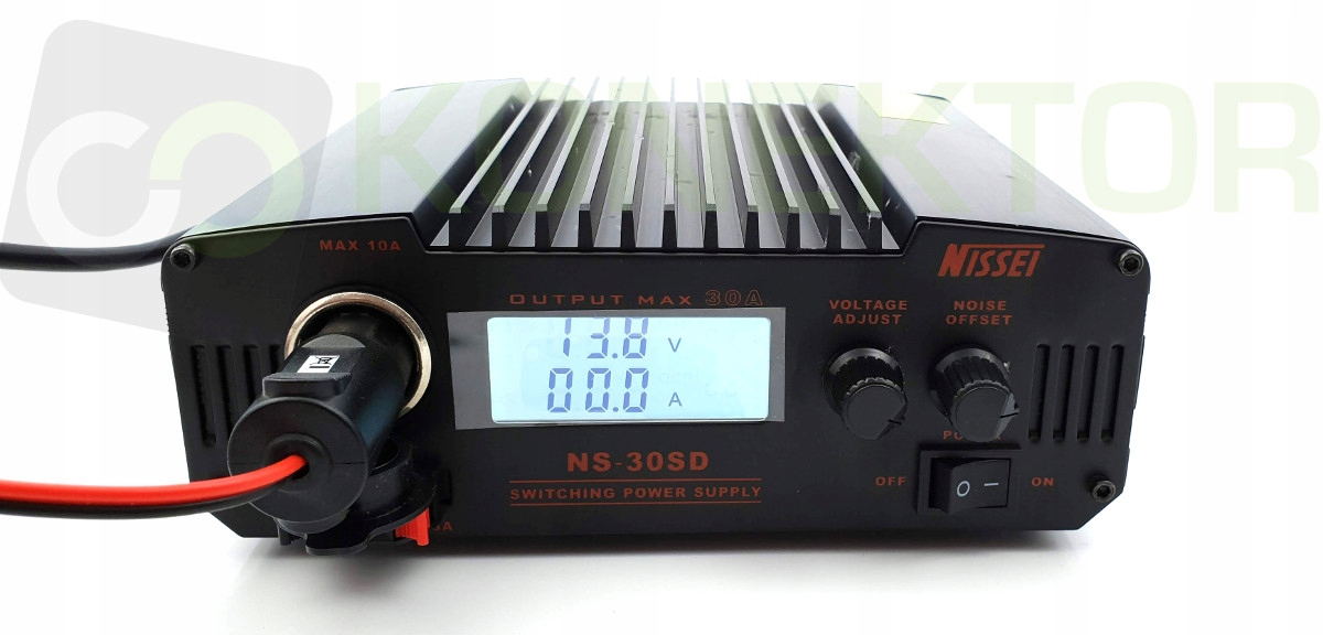 Купить NISSEI NS-30-SD ZASILACZ 9-15V 30A wskaźnik V/A на Otpravka - цены и фото - доставка из Польши и стран Европы в Украину.