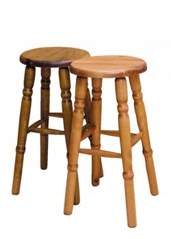 SOLIDNY TABORET 60cm HOKER KWIETNIK stołek kuchnia Głębokość mebla 30 cm