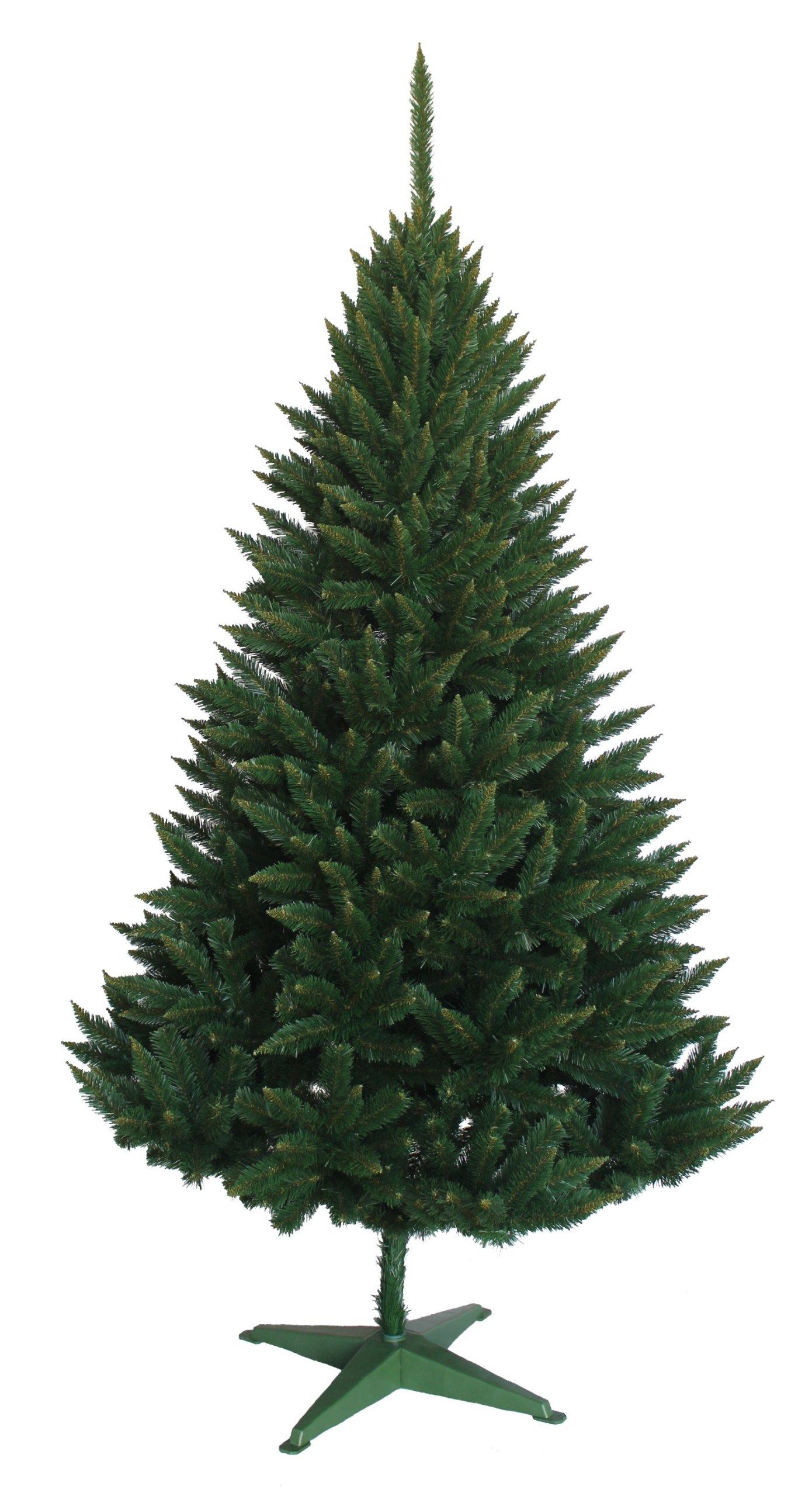 Vianočný strom umelý smrek prickly 180cm + stojan