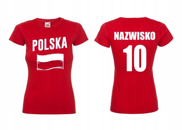Dámske poľské dámske tričko pre FAN XL