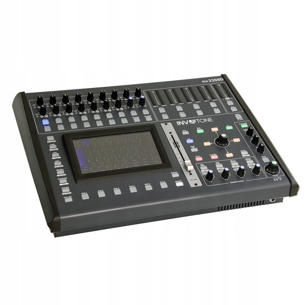 Item Mixer digital INVOTONE MX2208D RJ45 USB DSP TOUCH