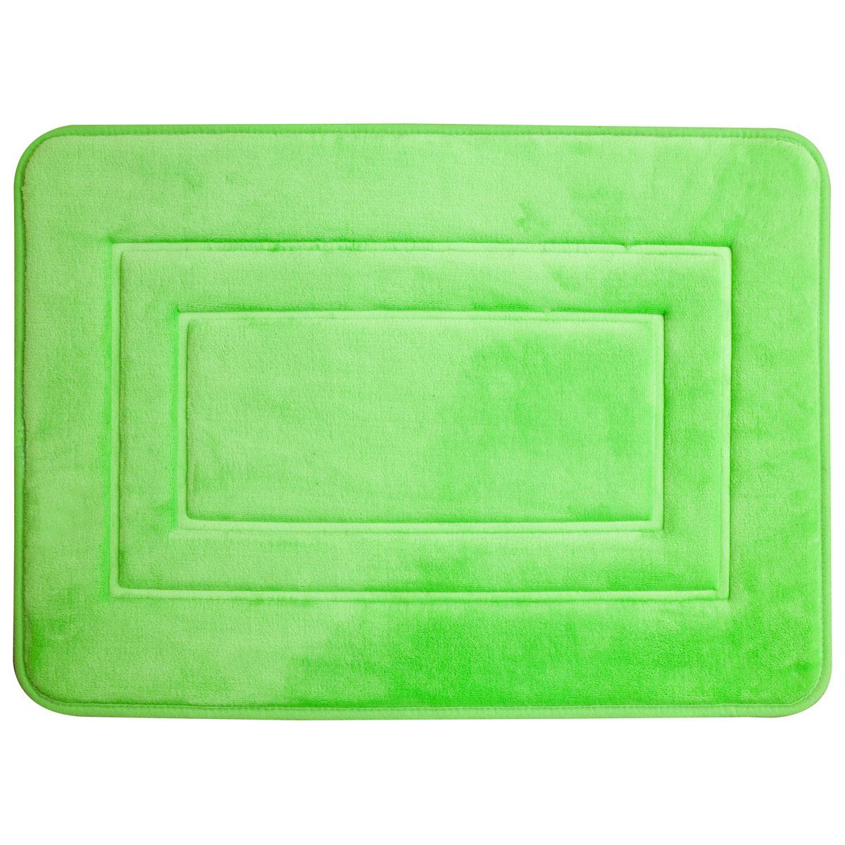 Super mäkká kúpeľňa koberec 40x60 San zelená