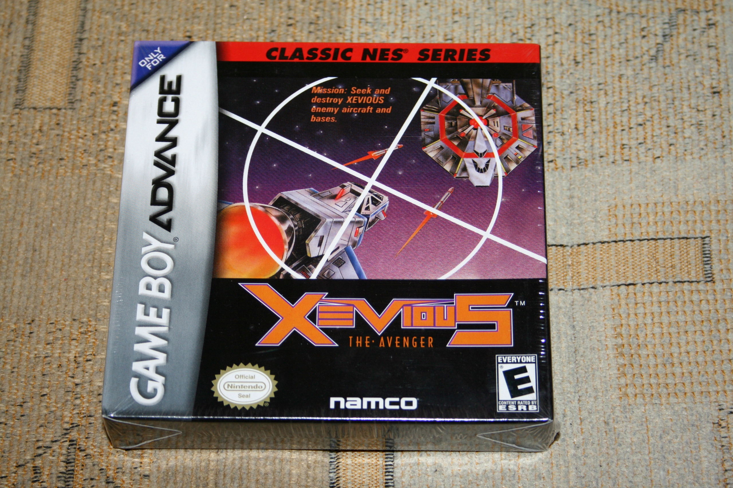 XEVIOUS NA POMSTITEĽ / NINTENDO GAME BOY ADVANCE