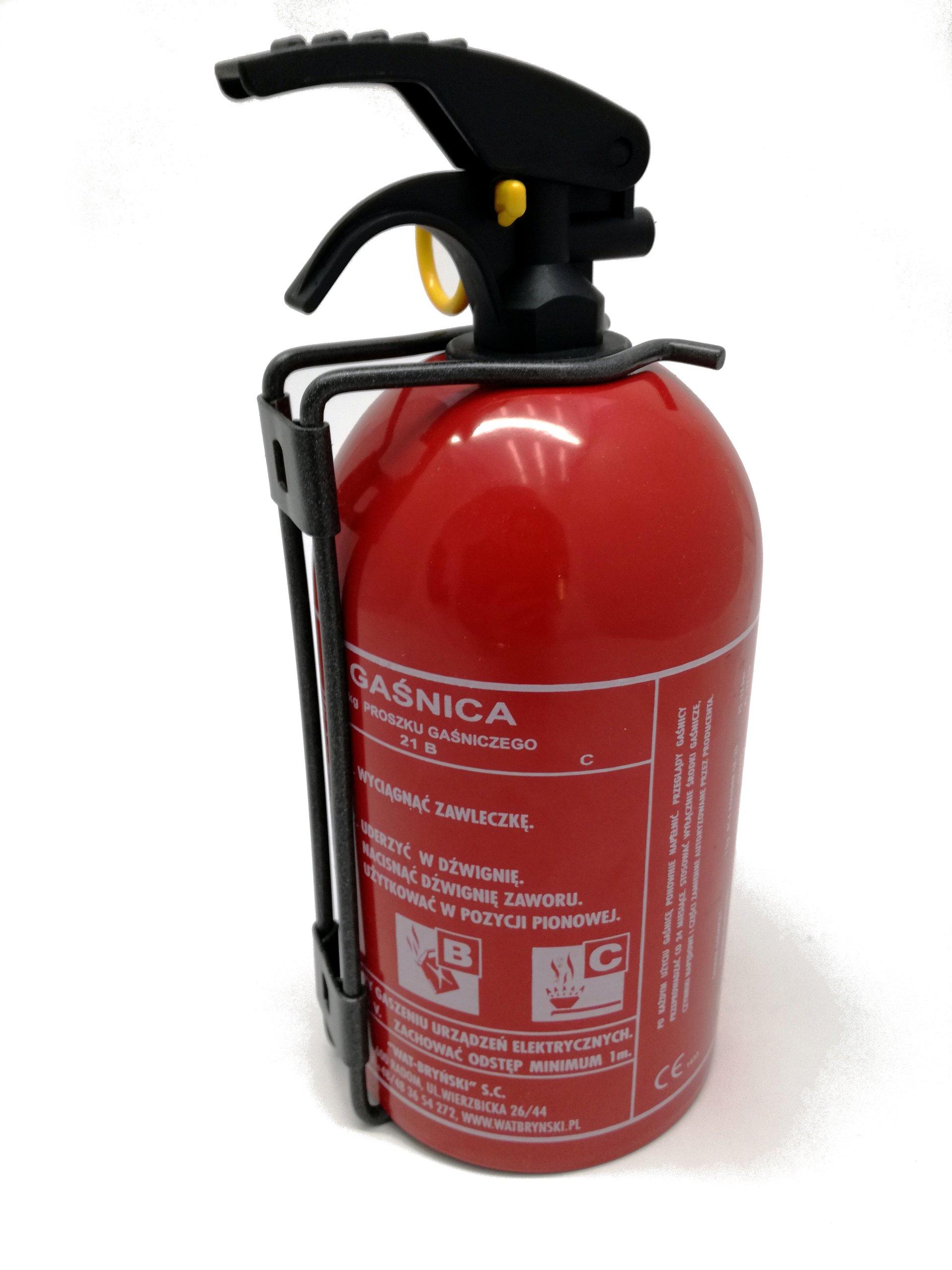 Автомобильный порошковый огнетушитель 1 кг + 5 лет
