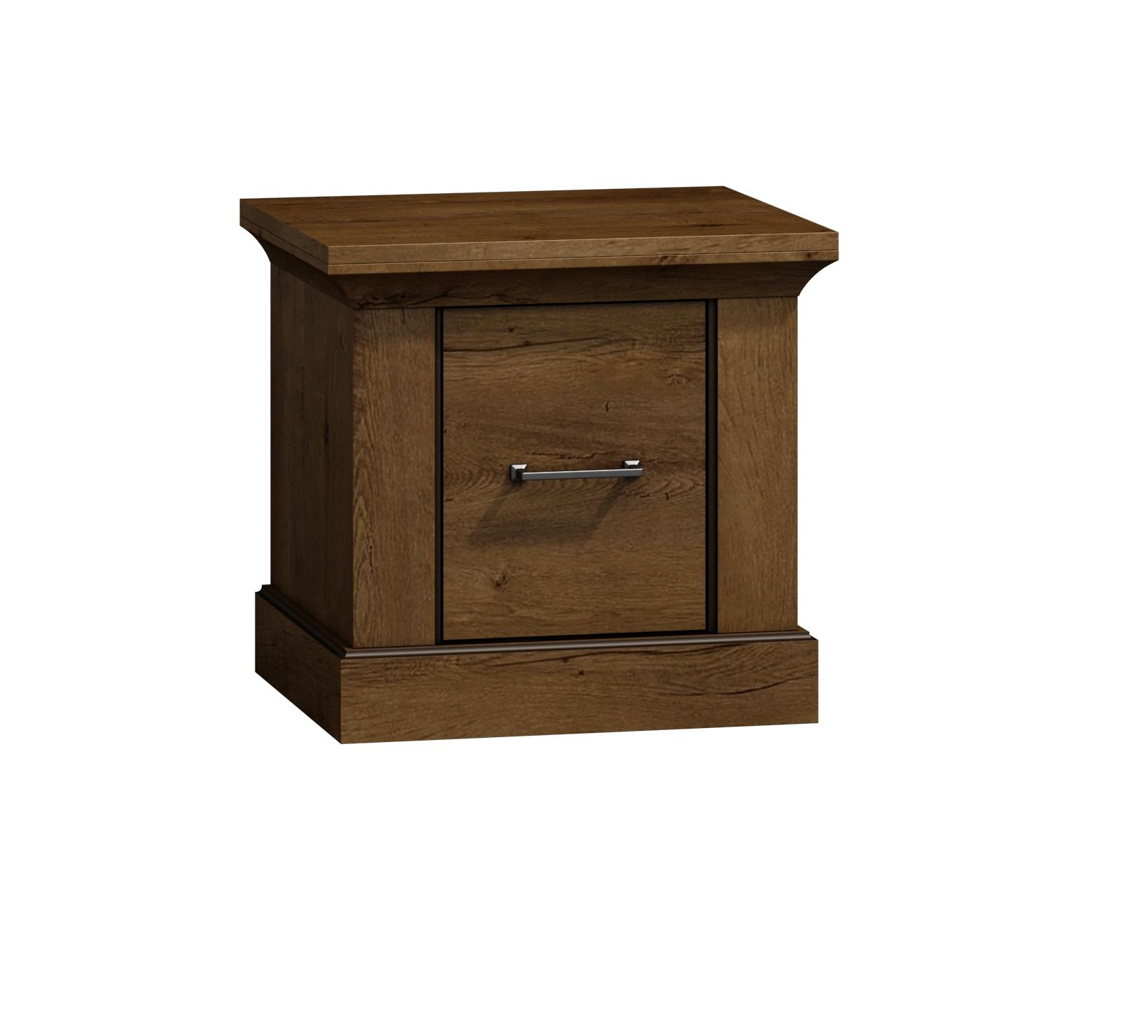Nočný stolík Skriňa nábytok, Retro R7 pre spálne