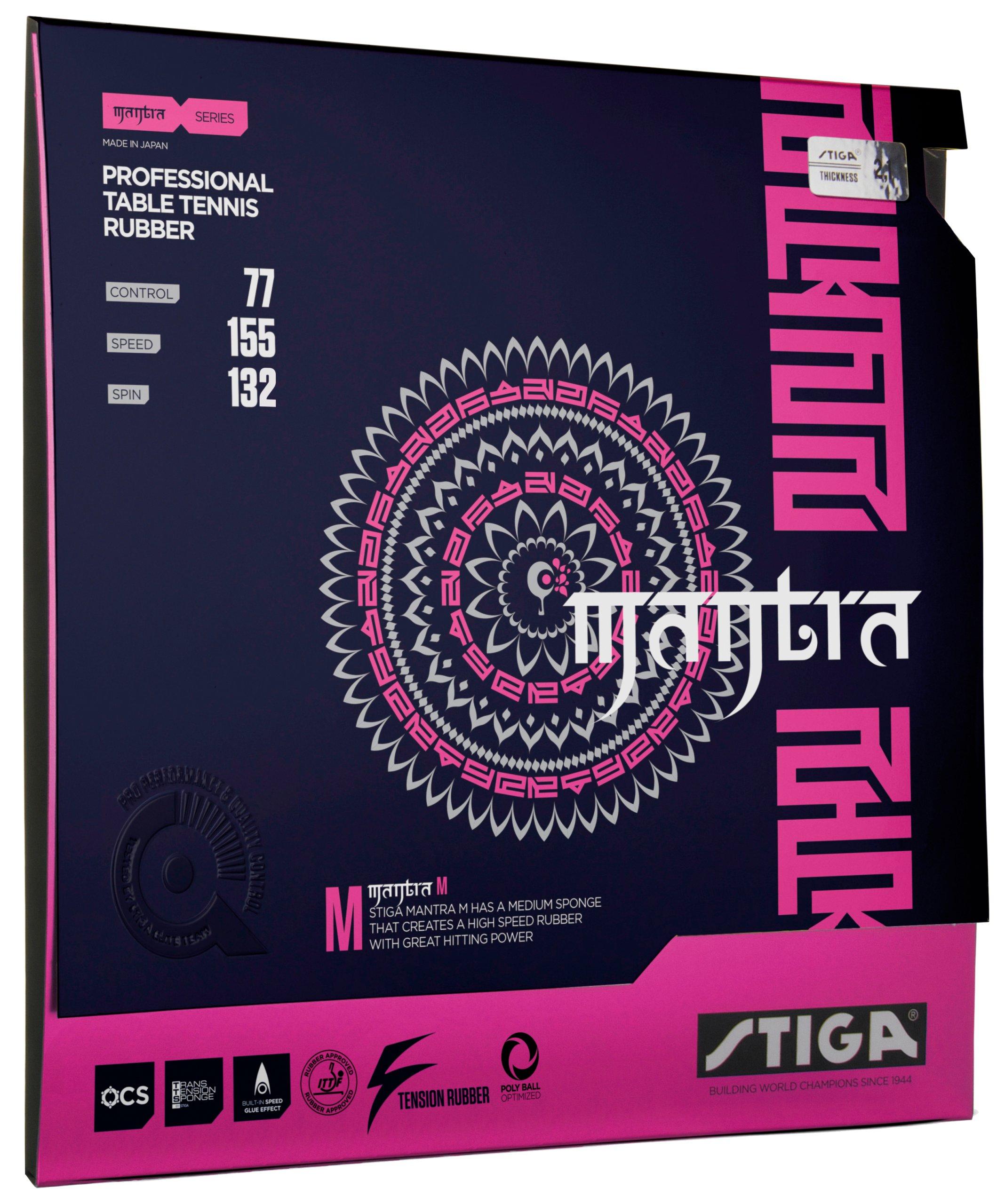 Купить Накладка STIGA МАНТРА М 2,1 черная NEW !! на Otpravka - цены и фото - доставка из Польши и стран Европы в Украину.