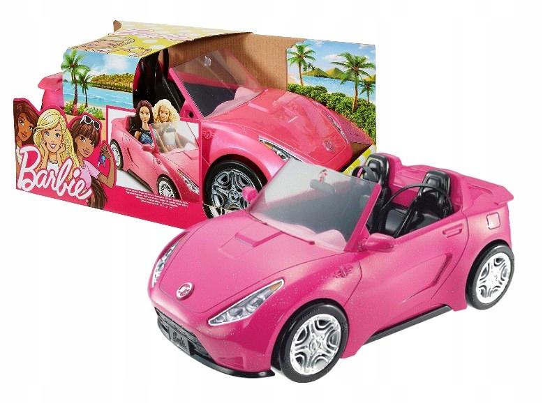 Barbie DVX59 Pink Cabriolet Car pre bábiky