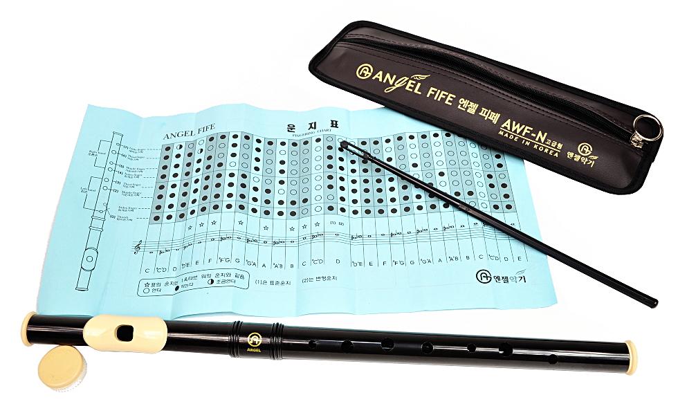 Priečny flautu z plastu pre deti a dospelých