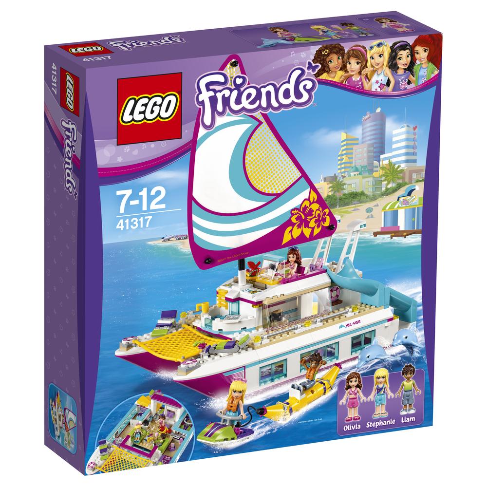 Lego Friends Pads Sunny Catamaran 41317