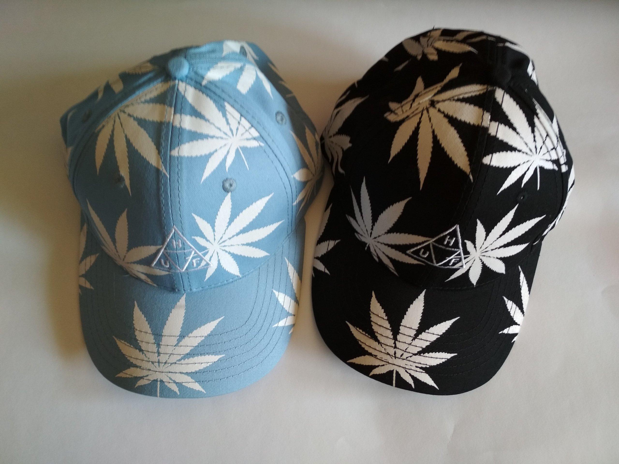 Najnowsza informacje dla wiele stylów Czapka Snapback Huf marihuana weed zioło CZAPECZKA