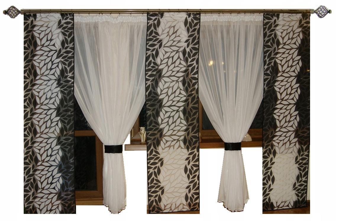 Комплект штор AFRICA Balcony 3 панели + 2 кокона