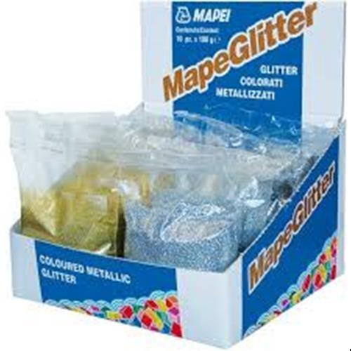 Mapii Brokat MapeGlitter 100g Silver Gold