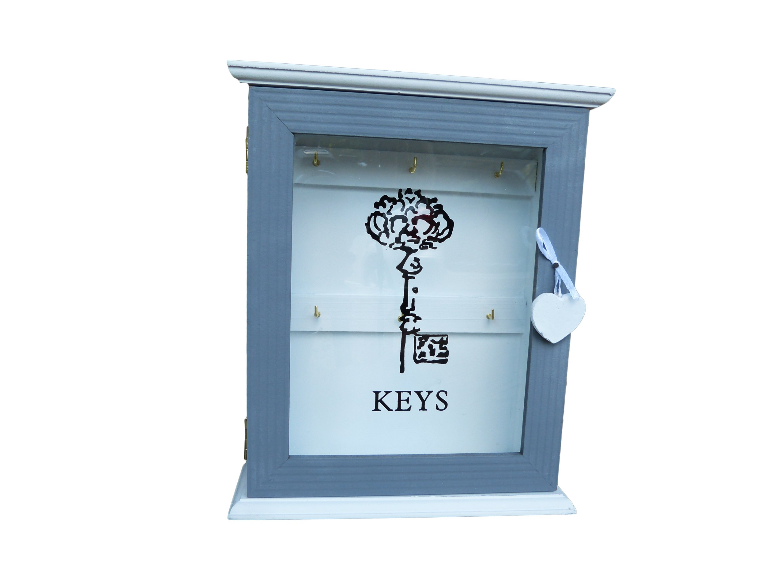 ZEKE Box Skrinka na kľúče ošumelé elegantný RETRO