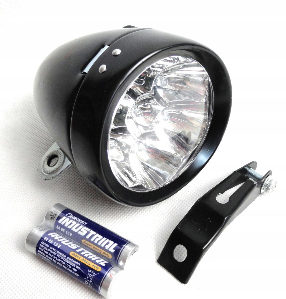 7-LED ČIERNA RETRO LAMPA