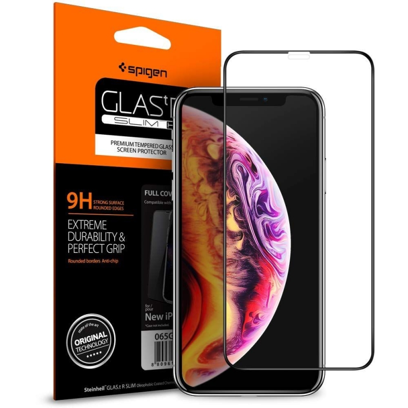 Szkło hartowane do iPhone 11 Pro Max Spigen do etu