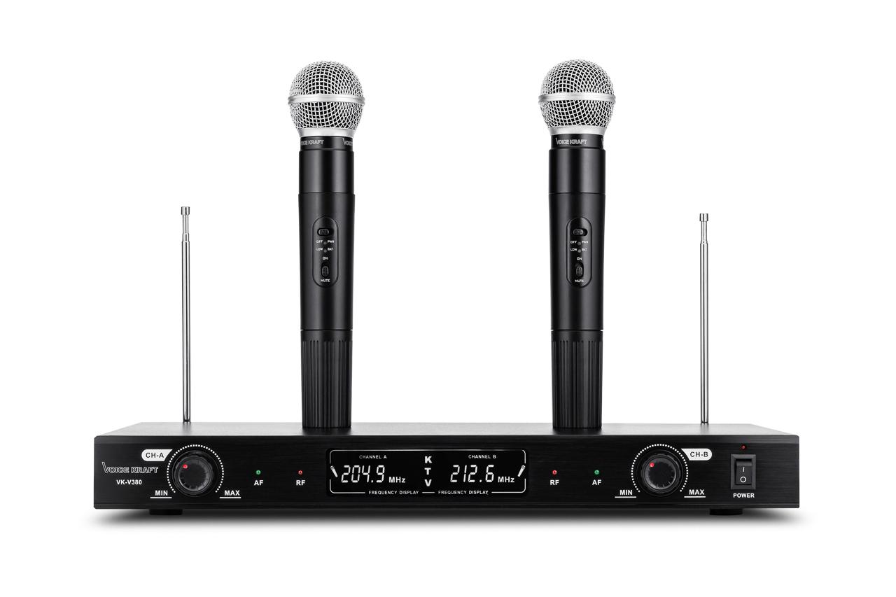 Profesionálny VK Bezdrôtové mikrofóny