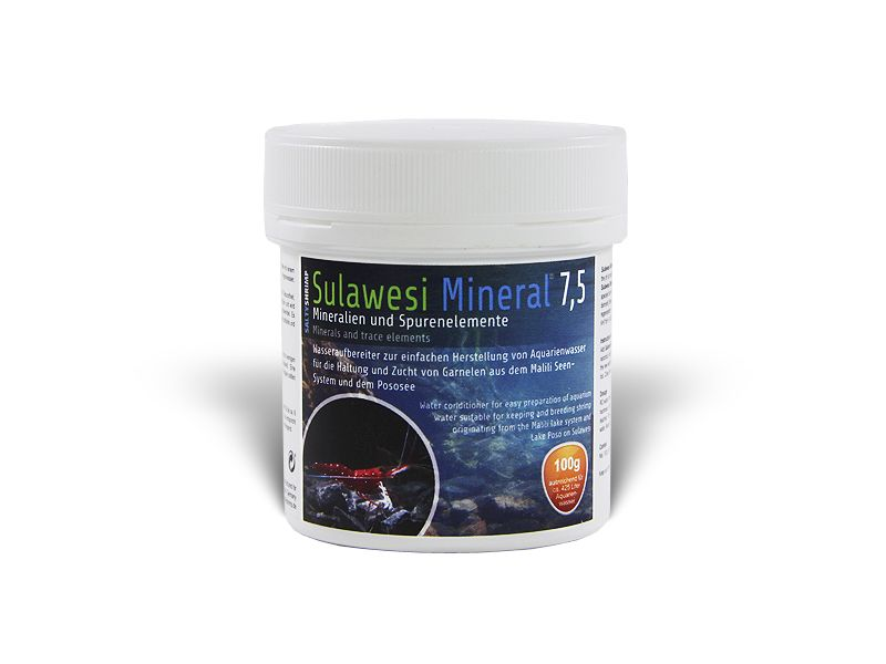 SALTY SULAWESI MINERAL 7,5PH 110G E-