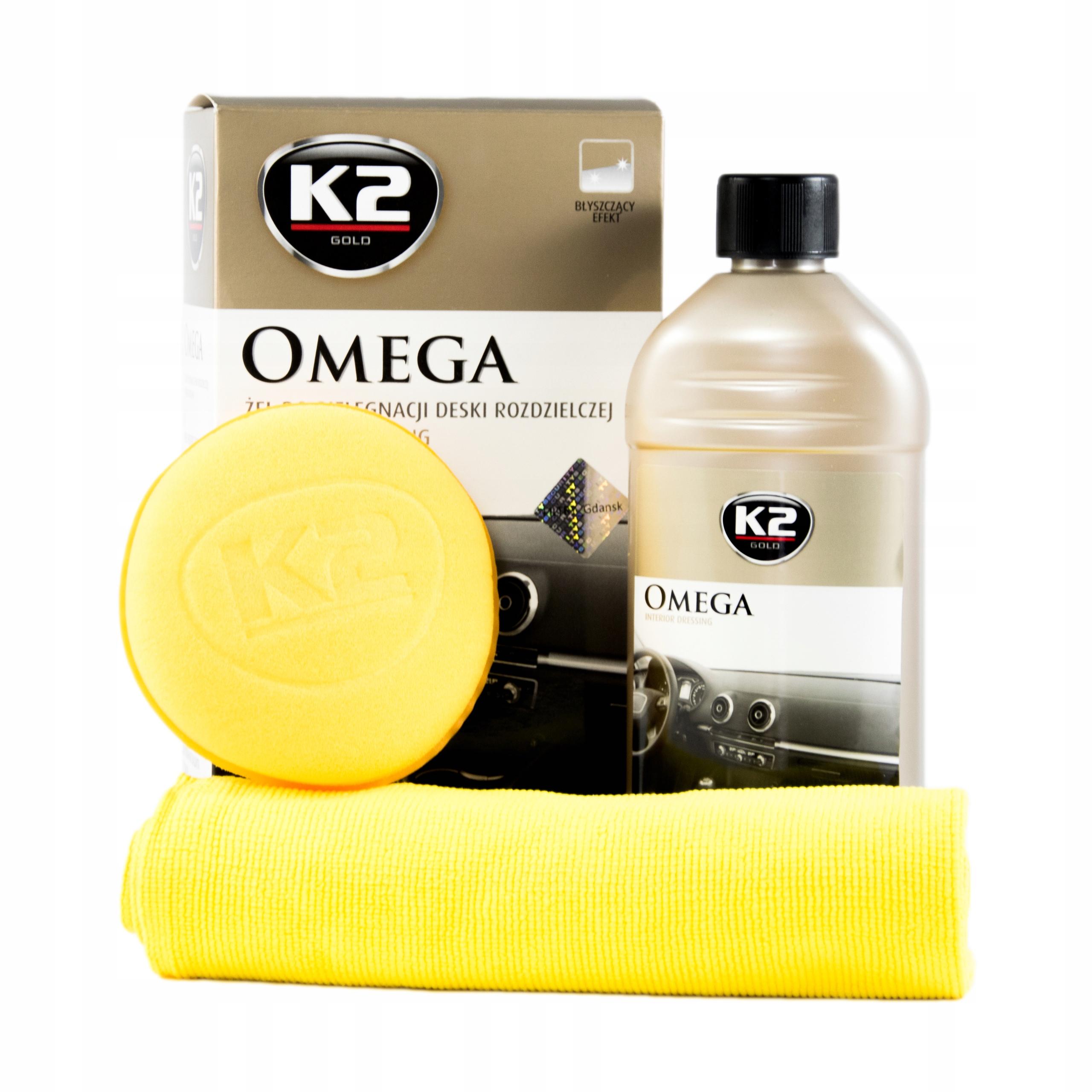 K2 Омега Гель для чистки пластика G410 500 мл